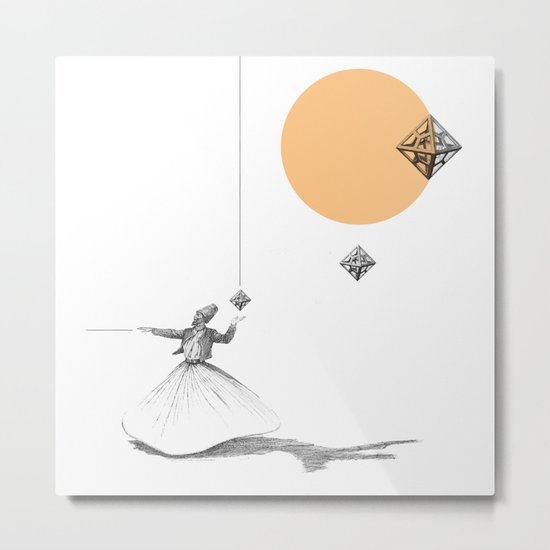 Darwish Metal Print