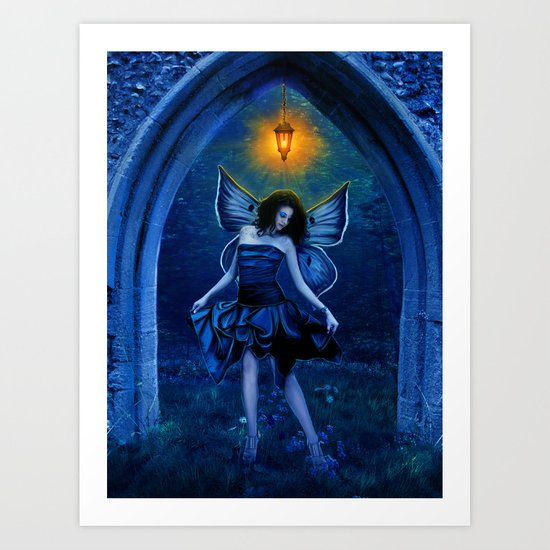 Elven Light Art Print