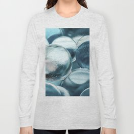 Blue Water Marbles Long Sleeve T-shirt