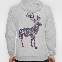 Abstract Christmas Deer Hoody