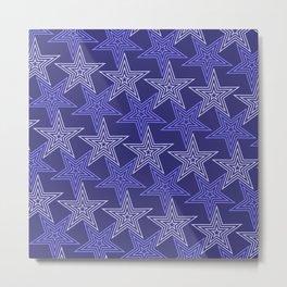 Op Art 105 Metal Print