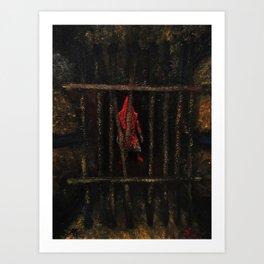 Pyramid Head (That Red Pyramid Thing) Art Print