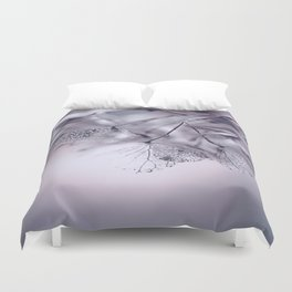 Dried Hydras Duvet Cover