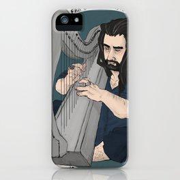 harpist iPhone Case