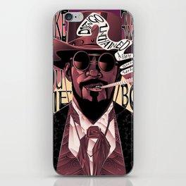 Django Poster iPhone Skin