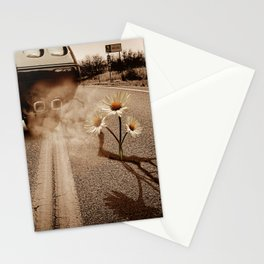 Exhausting Pipe Flowers Stationery Cards