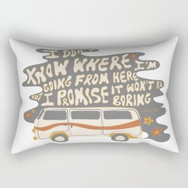 I don't know where I'm going Rectangular Pillow