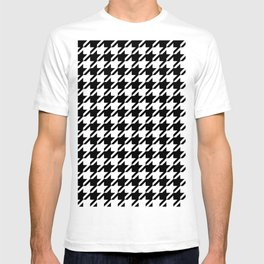 Houndstooth Large Classic Pattern T-shirt