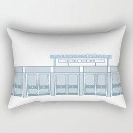 Dodger Stadium Left Field Gates Rectangular Pillow