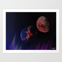 IHON - Born To The Endless Night Art Print