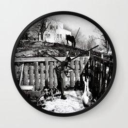 Hawkes Farm, 1970 Marblehead, MA Wall Clock