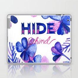 Hide Behind Laptop & iPad Skin