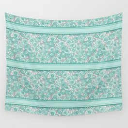 Retro Roses with lace Wall Tapestry