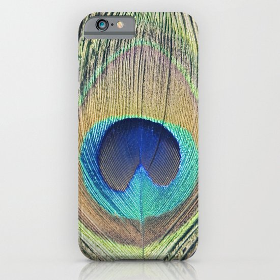 Peacock Feather No.2 iPhone & iPod Case