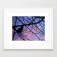 nightmare Framed Art Prints featuring Nightmare by silviardenti