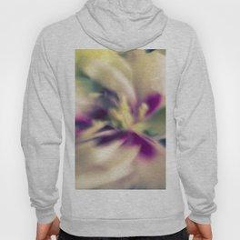 Blured flowers Hoody