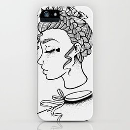 I have seen all, I have heard all, I have forgotten all iPhone Case