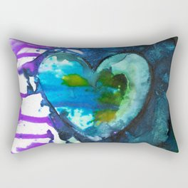 Eternal Heart No. 13J by Kathy Morton Stanion Rectangular Pillow