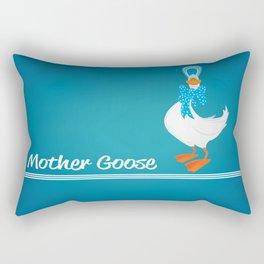 mother goose Rectangular Pillow