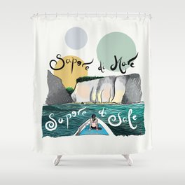 Capri Island Shower Curtain