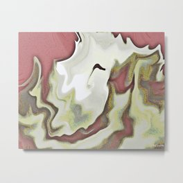 BURN THAT CANDLE Metal Print