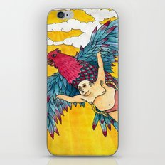 Lazy Tarzan - Flying iPhone & iPod Skin
