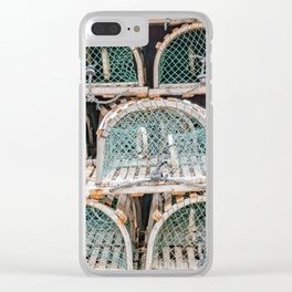 Readying for the lobster season Clear iPhone Case