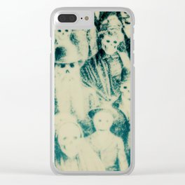 Calling All Skeletons No.1 Clear iPhone Case