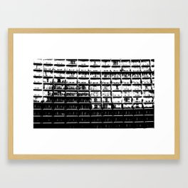 Apartments Just the Same Framed Art Print