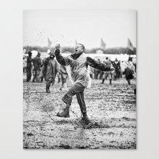 Mud and Techno Canvas Print
