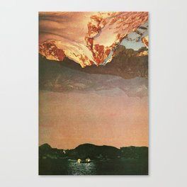 look at it upside down Canvas Print