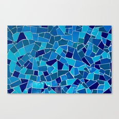 'Mosaic Tile' Canvas Print