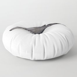 North Atlantic Humpback whale Floor Pillow