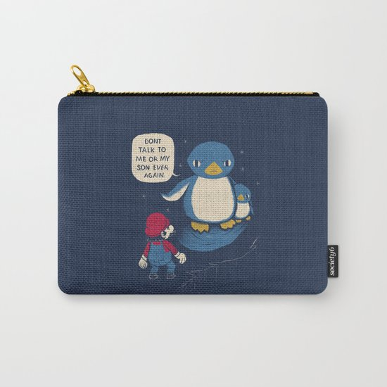 don't talk to me or my son ever again Carry-All Pouch