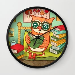 In Cahoots Wall Clock