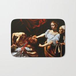 Caravaggio Judith Beheading Holofernes Bath Mat