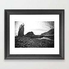 La Push Beach #2 - La Push, WA (5) Framed Art Print