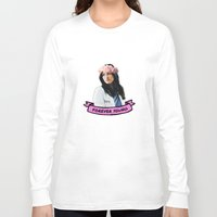 forever young Long Sleeve T-shirts featuring Forever Young by drmedusagrey