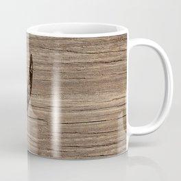 Wood Rhino Black Coffee Mug