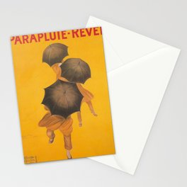 Vintage poster - Parapluie-Revel Stationery Cards
