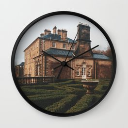 Gloomy Pollok Country Park Wall Clock