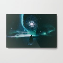 INFINITE WORLD #6 Metal Print