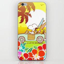 Snoopy Sunrise iPhone Skin