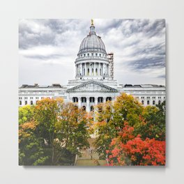 Fall at the Capitol - Sept 2020 Metal Print