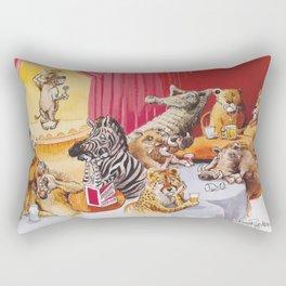 laughing hyena Rectangular Pillow