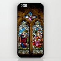 silence of the lambs iPhone & iPod Skins featuring The Lambs by Adrian Evans