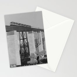 retro classic The Old Reliable poster Stationery Cards