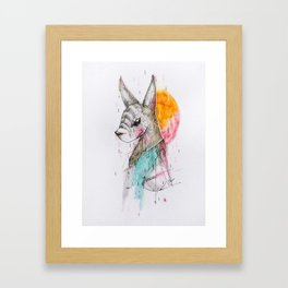 UNFOLLOWED Framed Art Print