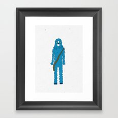 Bluebacca  Framed Art Print