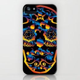 00  - COPERNICUS BLACK SKULL iPhone Case
